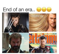 See the Thor one is funny..... but the wolverine one just makes me sad :(