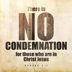 When you are remembered of past sin, remember this: