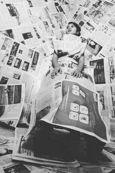 Newspaper photo concept with yira :D