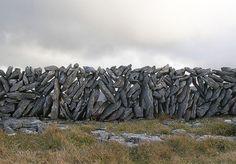 irish stone wall.