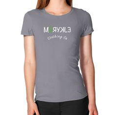 Women's Geen Ribbon Slim Fit T-Shirt