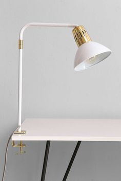 Assembly Home Clipped Tube Lamp - contemporary - Table Lamps - Urban Outfitters Contemporary Table Lamps, Big Girl Rooms, Fashion Lighting, Furniture Sale, Furniture Makeover, Home Lighting, Task Lighting, Lighting Design, Dorm Decorations