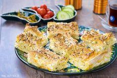 türkisches Yufka-Börek (vegetarisch)