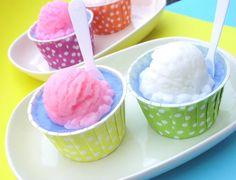 Pastel ice cream soap by sunbasilgarden.etsy.com #soap