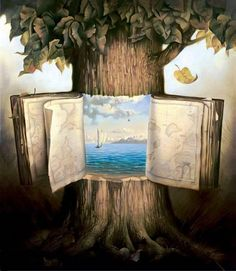 Atlas Of Wander [Vladimir Kush]     For the toy room doors....