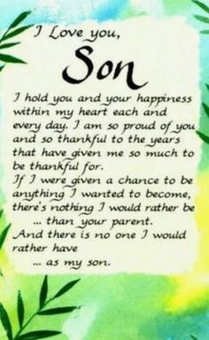 Kids Discover 60 trendy ideas for birthday quotes for kids boys words love you Mother Son Quotes Mom Quotes Life Quotes Son Sayings Love My Son Quotes Mother To Son Inspirational Quotes For Son Heart Quotes Son Growing Up Quotes Son Quotes From Mom, Mother Son Quotes, My Children Quotes, Mom Quotes, Quotes For Kids, Family Quotes, Son Sayings, True Quotes, Son Love Quotes