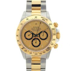 Used Pre-owned Rolex Men's Daytona Two-tone Watch