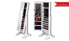Groupon - Full Length Dressing Mirror Jewellery Cabinet for R999 Including Delivery (67% Off) in [missing {{location}} value]. Groupon deal price: R999