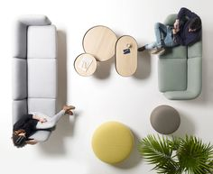 The Egon Collection of Furniture for Lounge Spaces from Alki