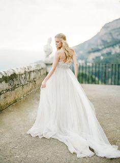 Amalfi Coast Wedding | Gown Samuelle