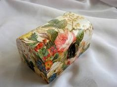cutie lemn decorata 20912