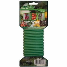 Luster Leaf Rapiclip Light Duty Soft Wire Tie 839 Color Light Duty Green Model 839 Hardware Tools Store -- Learn more by visiting the image link. Tool Store, Cannabis Plant, Lawn And Garden, Garden Hose, Garden Supplies, Fresh Vegetables, Container Gardening, Gardening Tools, Gardening