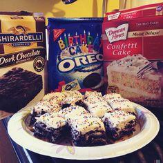 Slutty Brownies, Funfetti-Style