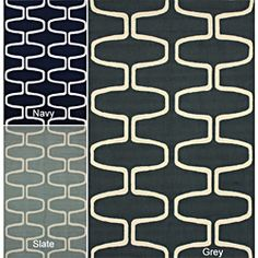 nuLOOM Hand-hooked Moroccan Trellis Wool Rug (5' x 8')