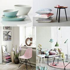 Trend Alert - Scandinavian Pastels * Alerta Tendência - Design Escandinavo Em Tons Pastel