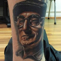 Kristian Kimonides created this awesome Junior Soprano tattoo.