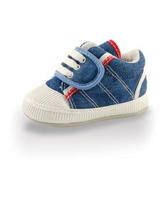 Another great find on #zulily! Blue Racing Stripe Slip-On Sneaker by Twinkie #zulilyfinds