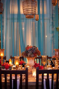 wonderland wedding | Rosemary Events, Julie Mikos Photography via Style Me Pretty