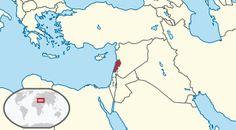 Lebanon in its region ◆Libanon – Wikipedia http://de.wikipedia.org/wiki/Libanon #Lebanon