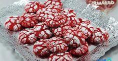 Galletas craqueladas red-velvet Thermomix. galletas red velvet thermomix, recetas para San Valentín Thermomix,