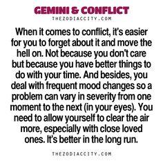 Zodiac Files: Gemini & Conflict.