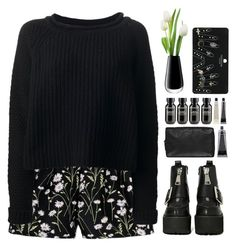 """""""@"""" by credendovides ❤ liked on Polyvore featuring Giambattista Valli, Jo No Fui, Jeffrey Campbell, Grown Alchemist, LSA International and Topshop"""