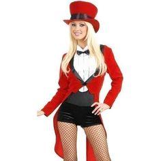 Damen Vintage Zirkusdirektor ca 47€ | Kostüm-Idee zu Karneval, Halloween & Fasching