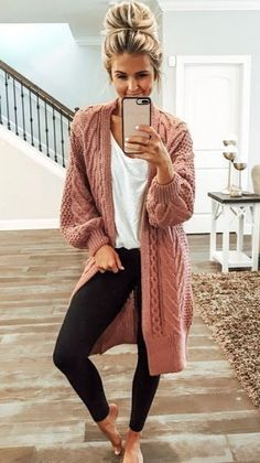 51 Most Viral Autumn Fashion Outfits 2019 – ClassyStylee 198862139784194791 51 Viralste Herbstmode-Outfits 2019 – ClassyStylee Winter Outfits For Teen Girls, Simple Fall Outfits, Cute Winter Outfits, Fall Fashion Outfits, Cute Casual Outfits, Look Fashion, Autumn Fashion, Winter Clothes, Summer Outfits