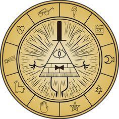 Gravity Falls - Bill Cipher Wheel by Doctor-G on @DeviantArt