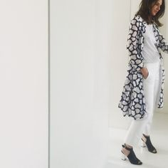 Monday morning - Optimising the wardrobe - #wearingadressasacoat. Lots of my dresses no longer fit around the waist, so I've started wearing them undone as a summer coat. Here Old DVF shirt dress #DVF #makeover #pradashoes. #jcrew.