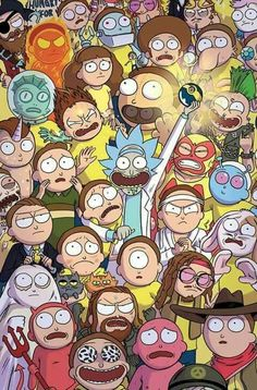 rick and morty family