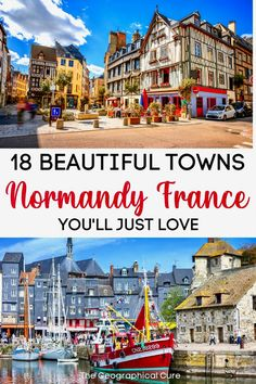 The Best and Most Beautiful Towns and Villages in Normandy France Sweden Travel, Austria Travel, France Travel, Europe Travel Tips, Places To Travel, Monaco, D Day Beach, Normandy France, Weekend Getaways