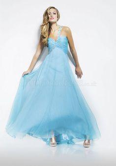 light blue prom dress :')