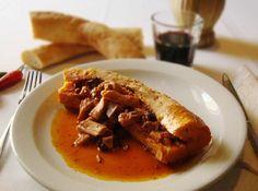 """""""La ricetta del Morzello"""", dello Chef Massimiliano Cartaginese (Calabria) http://www.informacibo.it/_sito/cucine-regionali/ricette/cartaginese.htm"""
