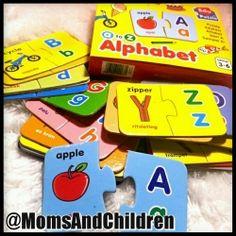 EDUPUZZLE Alphabets. Puzzle Edukasi - EDUPUZZLE dari A sampai Z...tiap hurufnya terdapat  gambar benda yang diawali huruf tersebut dengan kosakatanya dalam Bahasa Inggris. Contact us : Line@ : @MomsAndChildren whatsapp : 083897632306 BBM : 769432FC Teaching Kids, Autism, Usb Flash Drive, Alphabet, Youth, Apple, Children, Apple Fruit, Young Children