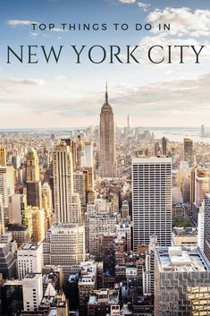 The most popular things to do in New York City for first-time visitors and those who love the city's main attractions.