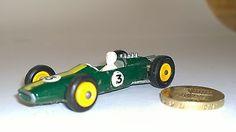 Matchbox Lotus No3 F1 Car Lesney Series England No19 Jim Clark Colin Chapman - http://www.matchbox-lesney.com/34779