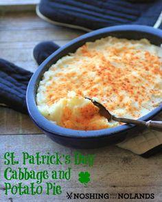Cabbage and Potato Pie | RecipeLion.com