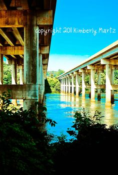 Bridges North and South 8x10 Photograph by kimple674250 on Etsy