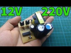 Simple INVERTER 12V to 220V from ATX supply part1 - YouTube #computerpartsandcomponents #computer #parts #and #components Gifts For Campers, Camping Gifts, Computer Parts And Components, Wine Glass Holder, Grilling Gifts, Old Computers, Circuit Diagram, Game Pieces, Electronics Projects