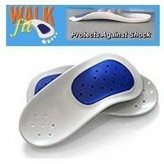 WalkFit Orthotic Insoles - Size H by Phase 4. $11.75. Eliminate foot pain, knee pain, hip pain and back pain. Comes with 3 customizable arch inserts. Increases foot support and comfort. Engineered to help your feet maintain the alignment of the body. Available in mens and womens sizes. New from the makers of Phase 4 Orthotics, WalkFit orthotic insoles help reduce pain in feet, knees, hips, and back. Each pair of WalkFit insoles comes with 3 customizable arch inserts, l...