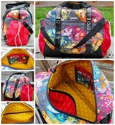 A multi-size pdf sewing pattern for stitching this gorgeous travel bag designed by Christine Welsh of Chris W Designs. If you love this bag as much as the many reviewers at Etsy, you'll want …