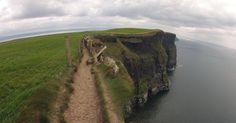 Trail along the Cliffs of Moher, Ireland - Imgur
