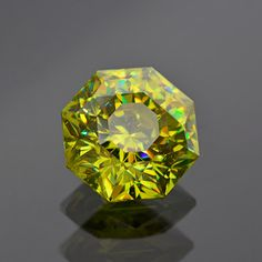 Superb Lemon-Lime Sphalerite Gemstone from Spain 12.56 cts by KosnarGemCo on Etsy https://www.etsy.com/listing/234344199/superb-lemon-lime-sphalerite-gemstone