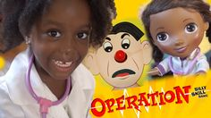 Doc McStuffins and Autty have fun playing Operation Game | Autty's World