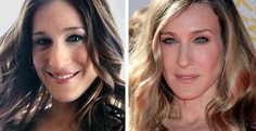 Sarah Jessica Parker Nose Job Before & After. Is it #Rhinoplasty or good lighting?