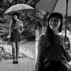 Asos Sweater, Stradivarius Skirt