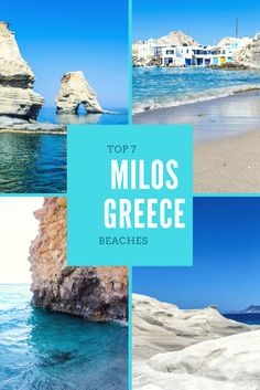 7 Beaches You Can't Miss in Milos Greece