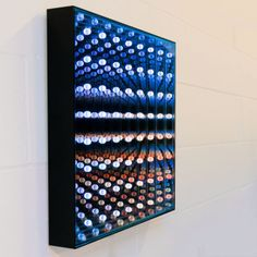 Dominic Harris, October 7 (2010) // Custom LEDs, 4 types of glass, Electronics, Aluminium