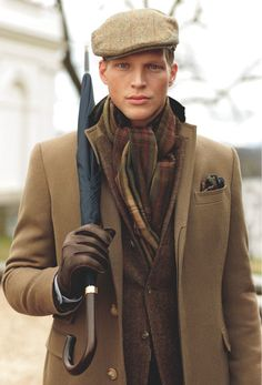 Geoffroy, Polo RL Chesterfield Topcoat,